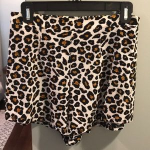Show Me Your Mimi cheetah shorts